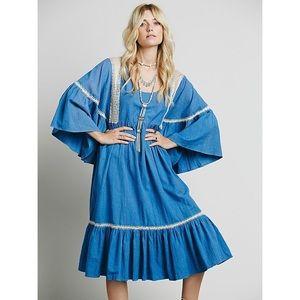 CAROLINA K Free People Antonia Peasant Dress \\ S